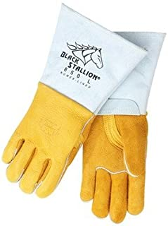 black elk skin gloves