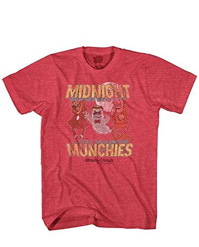 24.00 Uhr Munchies Monster Müsli Count Chocula Frankenberry Boo Berry T-Shirt (XL)