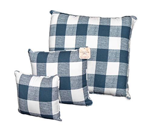 Cotton & Rye Outfitters Anderson Premier Navy Pillow, 24