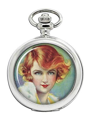 Billie Burke, Silent Film Actriz Reloj Bolsillo Hunter Completo