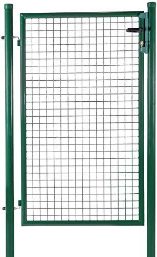 Portillon de Jardin Nice Gate - Hauteur 1m00 - Passage 1m - Maille 50x50 - Vert