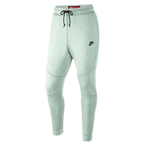 NIKE NSW TCH FLC JGGR Pantalones, Hombre, Gris (Ligero/Jaspeado) / Negro, XL