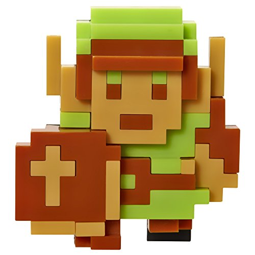 World of Nintendo 2.5' 8 Bit Link Action Figure(Discontinued by manufacturer)