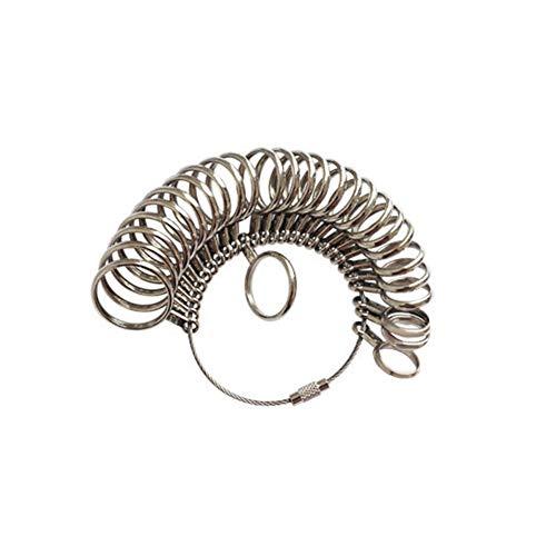 Livecity * Metall Finger Ring Messgerät Sizer * US UK EU Schmuckherstellung Größe Messwerkzeuge Set in verschiedenen Größen 1