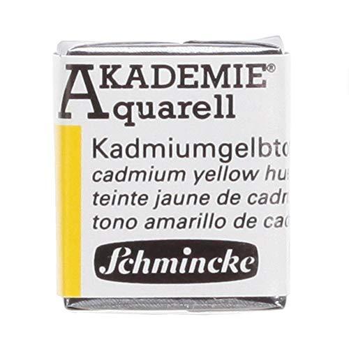 Schmincke AKADEMIE Aquarell Kadmiumgelbton Aquarell 16 224 044 1/2 Naepfchen