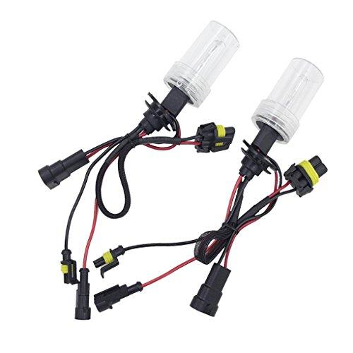 MagiDeal 2X 9005 HID 12V 35W Phare Xénon Lampe Lumiere Ampoule de Voiture - 6000K