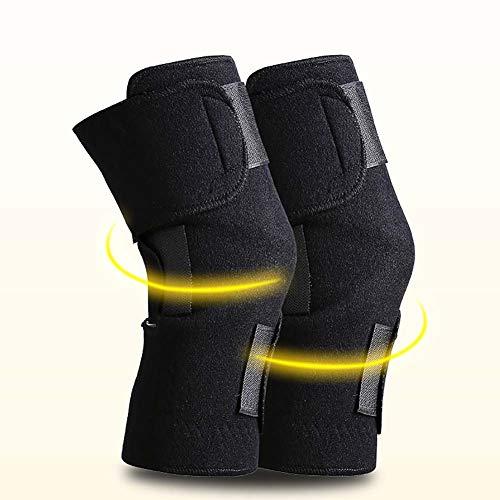 Ailyoo Rodillera eléctrica para Calentar Rodillas para Lesiones en la Rodilla, Dolor Artritis, reuma, articulación de Las Venas, músculos, Alivio del Dolor para Hombre y Mujer