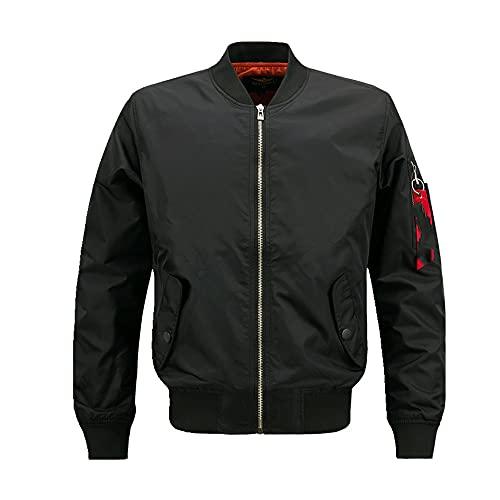 N\P Primavera otoño hombre casual cómodo deportes collar casual chaqueta