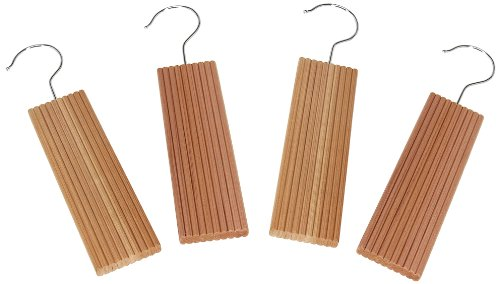 CedarFresh 32752-1 Cedar Wood Hang-Ups with Lavender | Freshen and Protect Closets | 4-Pack