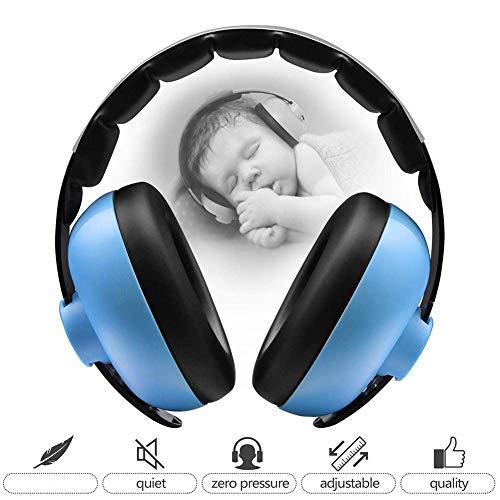 Kinderen baby gehoorbescherming lawaai hoofdtelefoon oorbeschermer voor volwassenen kinderen vrouwen met hoog draagcomfort laag gewicht