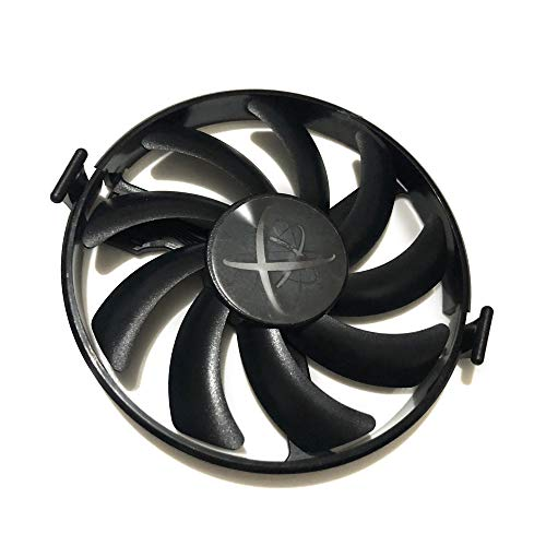 Graphics Card Fans DIY FDC10H12S9-C GPU Cooler for XFX RX 470 RX580 GTR RX480-RS RX460 Video Cards Cooling (90mm Black FDC10H12S9-C None Cable Hard Swap Fans)