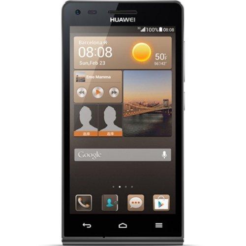 Huawei Ascend G6 Smartphone (11,4 cm (4,5 Zoll) Touchscreen, 8 Megapixel-Kamera mit Autofokus, 4GB Speicher, Android 4.3) schwarz