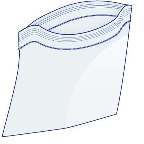 Bolsas extragrandes de peso pesado con cremallera para congelador, 33 x 45 cm, almacenamiento con cremallera y cierre Jumbo de 2.5 galones, bolsas transparentes de calidad 50 unidades