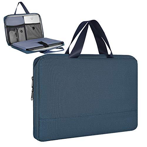 Funda de transporte para portátil Acer Nitro 5/Aspire 5/Predator Helios 300/Chromebook 15, Yoga C740 C940, Dell Inspiron 15 5000/Dell Chromebook 15/HP Pavilion 15.6 (azul)