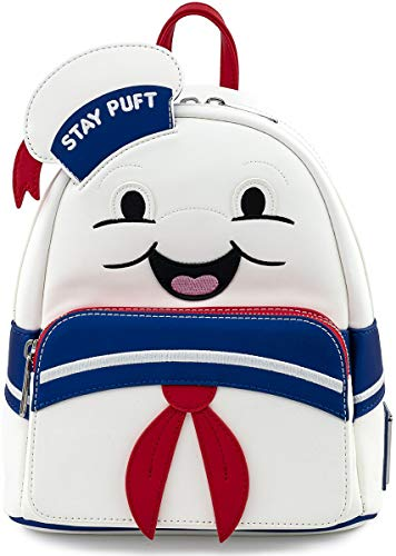 Loungefly Ghostbusters Stay Puft Marshmallow Man Cosplay Womens Double Strap Shoulder Bag Purse
