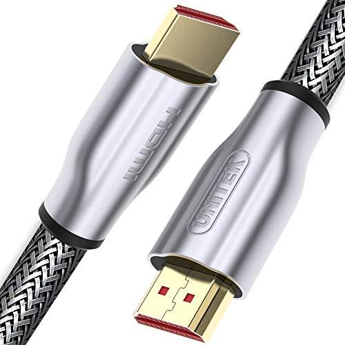 Unitek HDMI 2.0-kabel LUX gevlochten 10m zwart