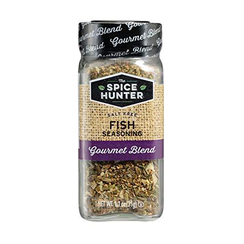 The Spice Hunter Fish Seasoning Blend, 1.1-Ounce Jar