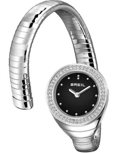 Orologio BREIL donna B SNAKE quadrante bianco e bracciale in acciaio,...