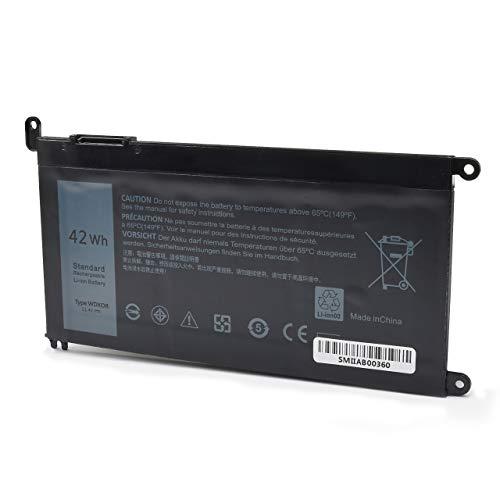 LQM Batería para portátil DELL Inspiron 13 5368 5378 5379 7368 7378 15 5565 5567 5568 5578 7560 7570 7579 7569 P58F Series Compatible con FC92N 3CRH3 T2JX4 CYMGM