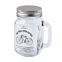 EAT WELL DRINKING JAR ガラスジャー メイソンジャー RIDE
