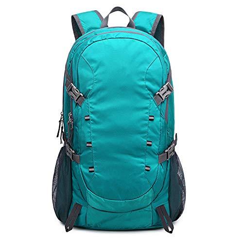 EDCR Waterproof Outdoor Rucksacks Trekking Bag 40L Hiking Backpack Nylon Travel Daypack For Climbing Mountain -Green_Color_