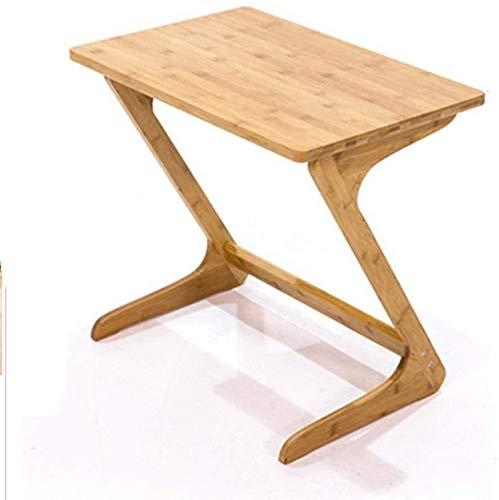 Mesa de centro Salón escritorio de la computadora escritorio de la computadora, sofá mesa de ping-casa de madera en forma de Z, mesita de noche Jardín de mesa de café pupitres Tablas de café pequeñas