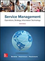 Service Management: Operations, Strategy, Information Technology, 9th Edition Front Cover
