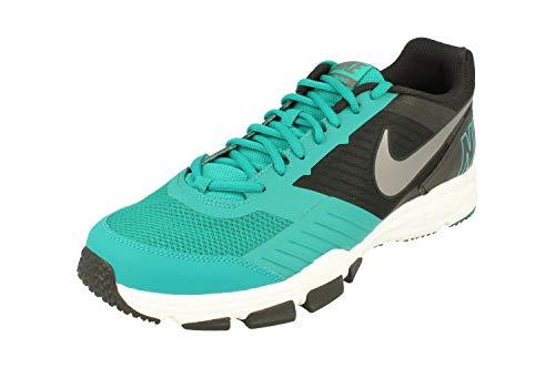 Nike Air One TR 2, Zapatillas de Senderismo Hombre, Verde (Radiant Emerald/mtlc Dark Grey-Black), 44.5