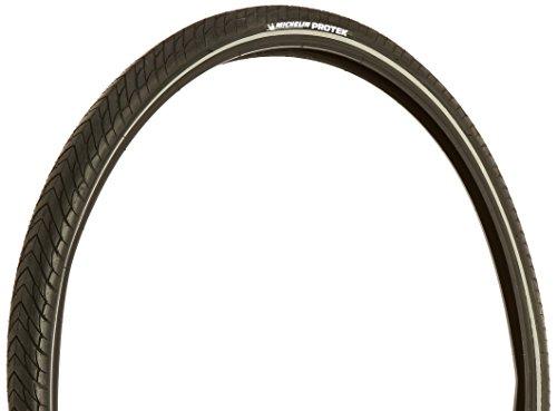 MICHELIN Protek Bicycle Tire, Black, 700 x 35cm