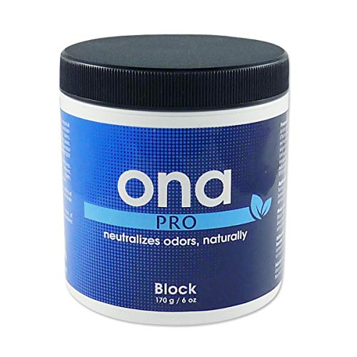 ONA Block Pro Odour Neutraliser - Remove Unwanted Odours Safely, Naturally and Permanently - 170g
