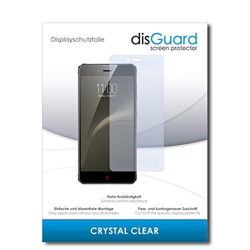 disGuard® Bildschirmschutzfolie [Crystal Clear] kompatibel mit Nubia Z11 Mini S [3 Stück] Kristallklar, Transparent, Unsichtbar, Extrem Kratzfest, Anti-Fingerabdruck - Panzerglas Folie, Schutzfolie