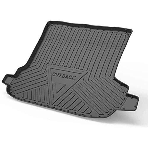 XLUCBS Car Boot Mat TPO Rubber Non-Slip Waterproof Car Rear Trunk Mat Custom Tailored Auto Rear Trunk Accessories, for Subaru Outback