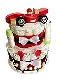 Tarta de pañales mágica para niños en bonitos colores, regalo para baby...