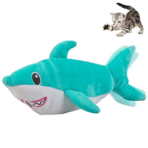 Pet Craft Supply Wiggle Pickle and Shimmy Shark Flipper