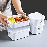 冰箱水果保鲜盒带盖塑料食品收纳盒子便当盒小饭盒密封盒