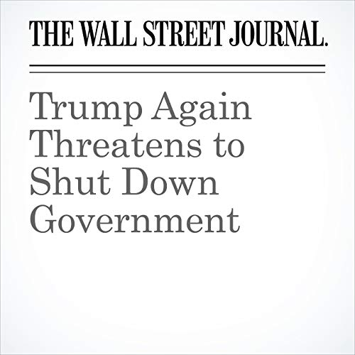 Trump Again Threatens to Shut Down Government copertina