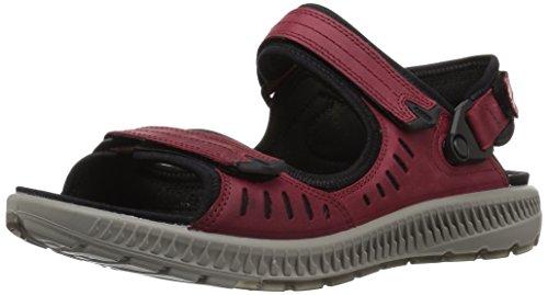 ECCO Women's Terra 2S Athletic Sandal, Brick, 5-5.5