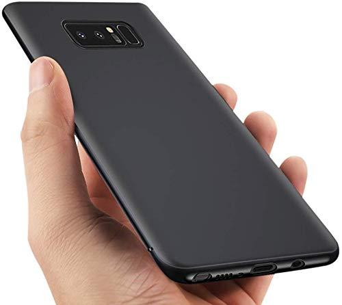 vitutech Handyhülle Für Samsung Galaxy Note 8 , Note8 Hülle TPU Schutzhülle Anti-Scratch Galaxy Note 8 Case Cover Bumper Case Weiche Silikon Schutzhülle für Galaxy Note8 - Schwarz
