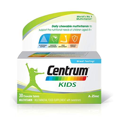 Centrum Kids Multivitamins & Minerals, 30 Tablets