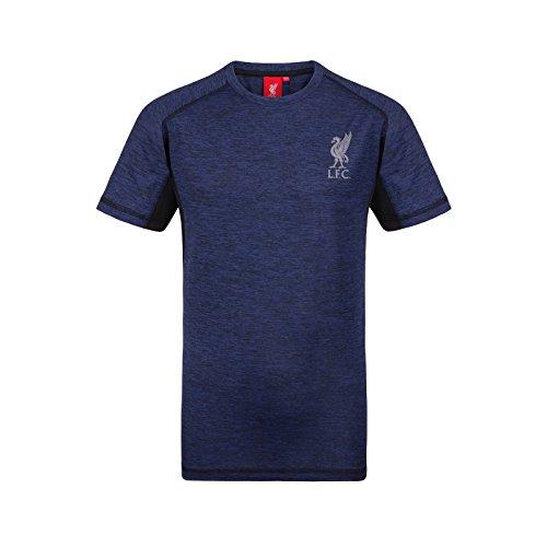 Liverpool FC - Jungen Trainingstrikot - Offizielles Merchandise - Royalblau - 4-5 Jahre