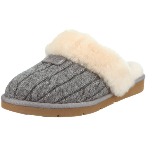 Ugg Australia Womens Cozy Knit Hearts Slippers Online Shopping Site