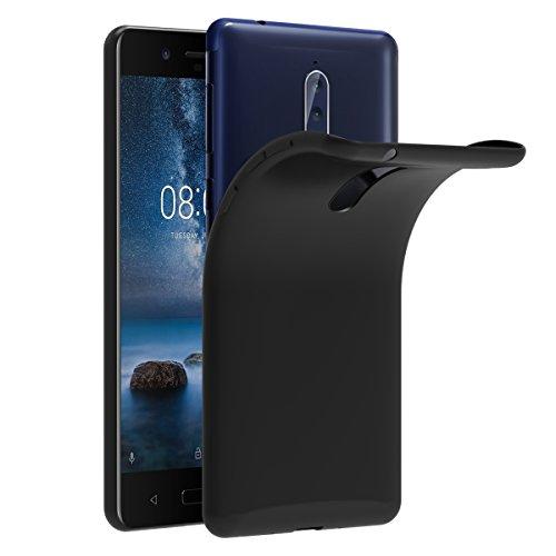 iVoler Cover Compatibile con Nokia 8, Silicone Case Molle di TPU Trasparente Sottile Custodia