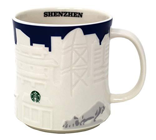 Starbucks Collector Relief Series Shenzhen Mug, 16 Oz
