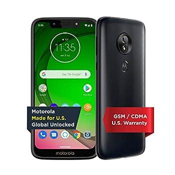 Moto G7 Play with Alexa Push-to-Talk – Unlocked – 32 GB – Deep Indigo  US Warranty  – Verizon AT&T T–Mobile Sprint Boost Cricket & Metro
