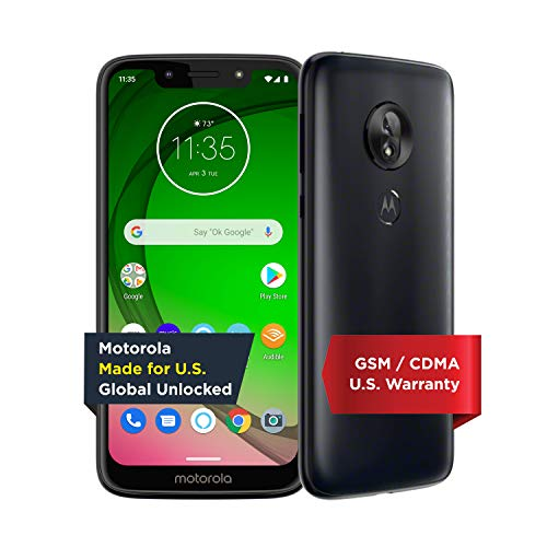 Moto G7 Play Unlocked 32GB Android Phone in Deep Indigo - $99.99 Shipped