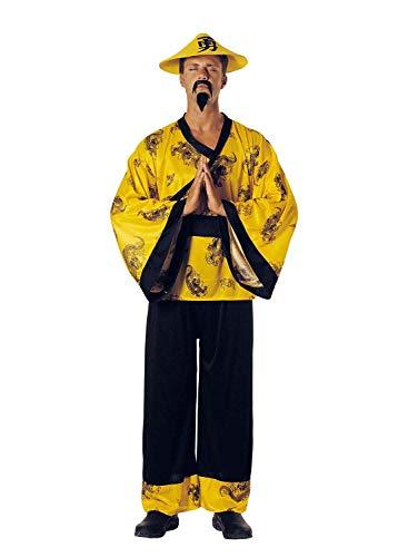 chiber Disfraces Disfraz Chino Amarillo