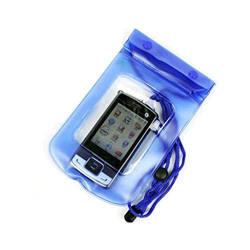 HONGGE Nueva Bolsa de Funda Seca a Prueba de Agua Transparente para Toda la cámara del teléfono Celular Compacto Ligero (Color : Green)