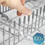 Plemont [Lot de 100] Capuchon du lave-vaisselle pour protéger les broches,...