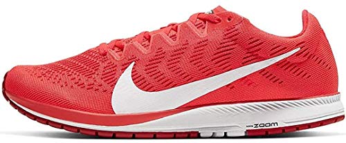 Nike Air Zoom Streak 7, Zapatillas para Correr Unisex Adulto, Laser Crimson White University Red, 42 EU