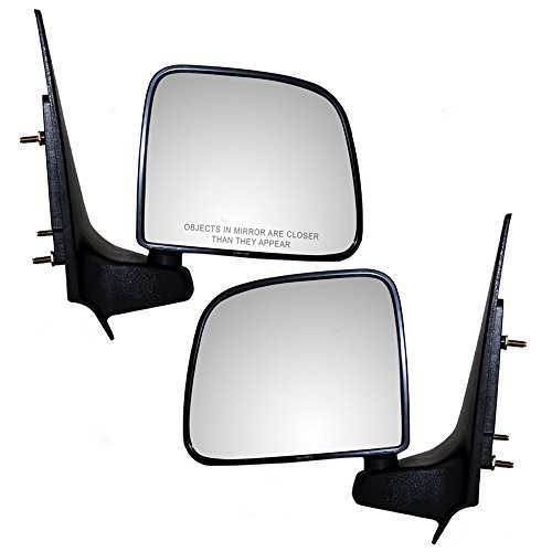 Driver and Passenger Manual Side View Mirrors Replacement for Ford Mazda Pickup Truck ZZP069180 F87Z17682SAA